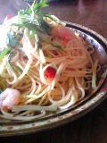 水菜と柚子