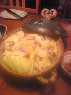 キャベツの土鍋蒸し